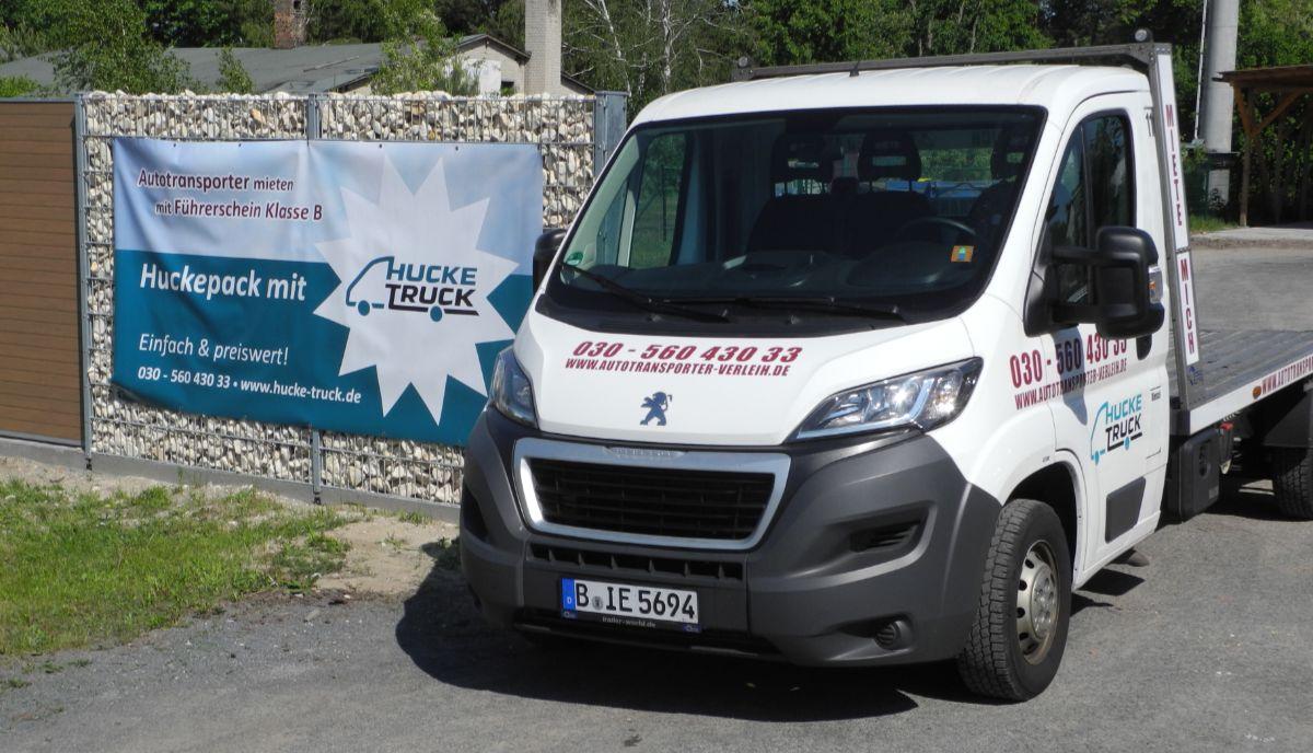 Autotransporter Mieten Hucke Truck Wandlitz