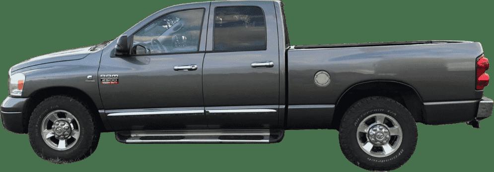 Bei HUCKE TRUCK einen Dodge RAM 2500 Quad Cab als Zugfahrzeug mieten
