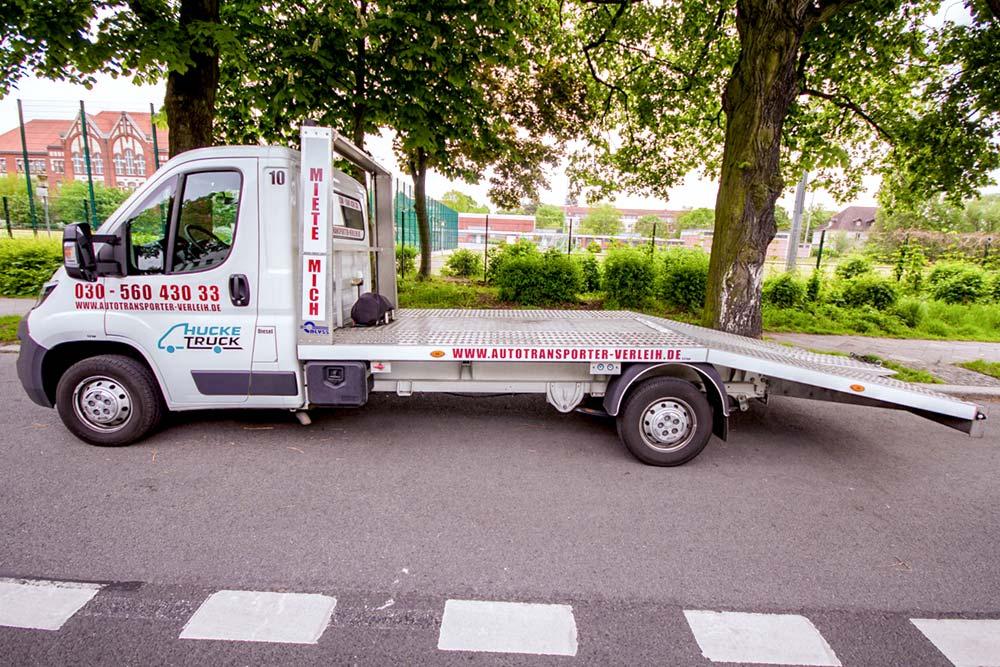Autotransporter von Hucke Truck